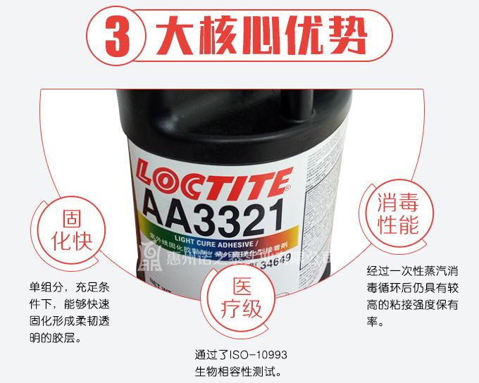 乐泰3321触变性胶粘剂